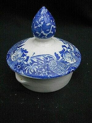 Vintage Blue & White ** SPODE ITALIAN ** Replacement Coffee Pot Lid • 9.99£