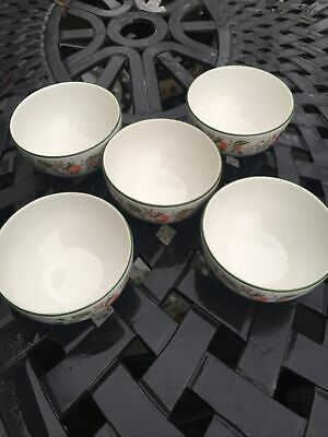 Johnson Brothers Fresh Fruit Small Bowls X 5 11cm Dia Excellent Condition  • 6£