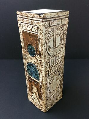 Troika Pottery Coffin Vase M Murrell Newlyn 1974 1975 • 144.99£
