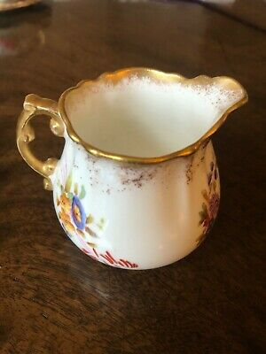 Collectable Vintage Milk Jug - Hammersley Bone China 150153 Dresden Sprays  • 13£