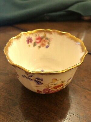 Vintage China Bowl. Hammersley Bone China Sugar Bowl 150153 Dresden Sprays  • 7.50£
