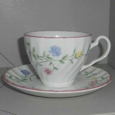 Johnson Bros Summer Chintz Cup & Saucer 4 Avail • 4.99£