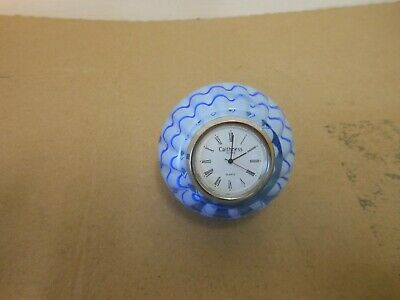 Caithness Crystal Clock Paperweight,,,,,,,,106 • 8.80£