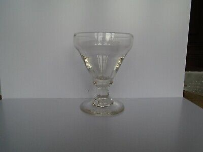 Large Antique 18th Century Pan Top Glass Rummer Or Goblet • 9.99£