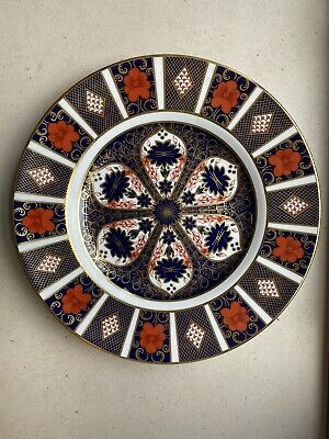 Royal Crown Derby Old Imari Dinner Plate- Mint Condition • 21.10£