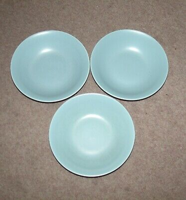 Poole   Pottery  Cereal / Soup Bowls Sky Blue  • 9.99£