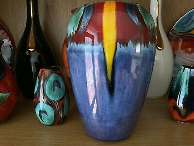 Poole Pottery Vase 21 Cm High  • 50£