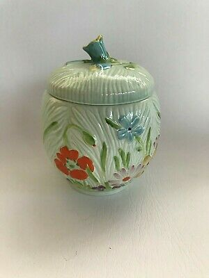 Beswick Lidded Jar Floral Pattern 880 In Excellent Condition. • 4.99£