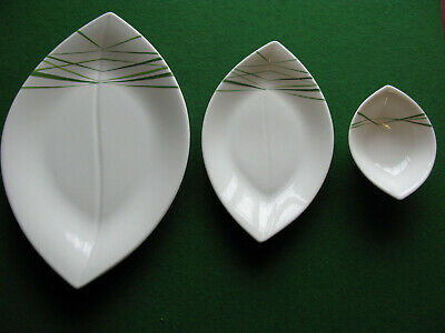 Villeroy Boch Palm Garden Leaf Shaped Platter And Serving Dishes..New ( Other ) • 50£