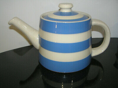 Rare T G Green Cornish Blue Huge Family Teapot Shop Display Made In England Fab • 225£