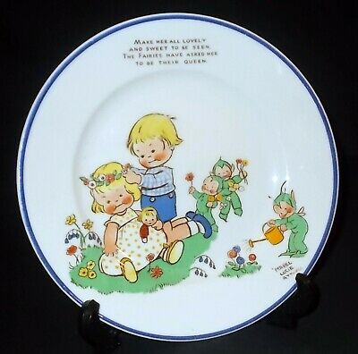 Shelley MABEL LUCIE ATTWELL Childs / Nursery Plate • 14£