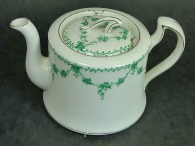 Antique- Foresters- Teapot- Green Swags • 4.99£