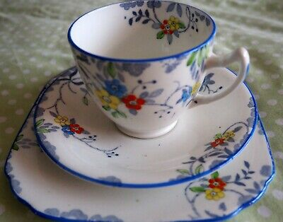 Treo Cup,Saucer & Plate By Sutherland China • 2£