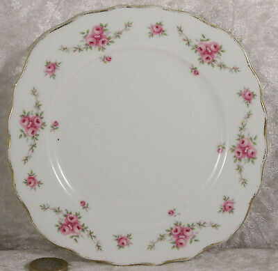 Royal Osborne Plate Pink Rose Flowers 6 Inches Across Afternoon Tea Wedding  • 1.50£