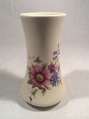 Lovely Decorative Vintage Floral Pattern Vase By Axe Vale Pottery, Devon • 3.99£