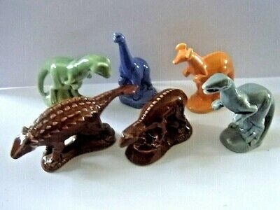 Wade WHIMSIE FULL SET OF DINOSAURS • 16.99£
