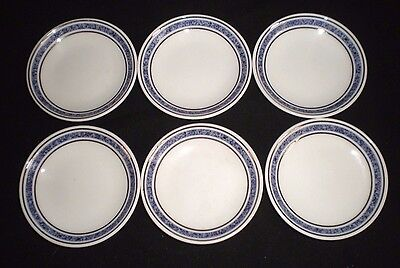 6 X Royal Doulton British Airways Butter Dishes - Christmas Teas! [27] • 5.25£
