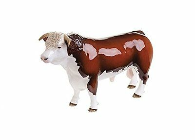 John Beswick Hereford Bull (Horned) Figurine NEW In Gift Box  • 54.95£