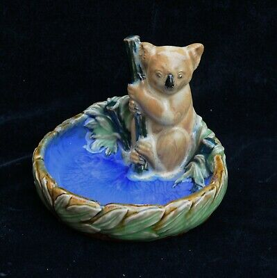 Doulton Lambeth Bibelot With Model Of Koala Bear • 425£