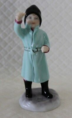 Royal Worcester 3453 February Figure VGC • 25£