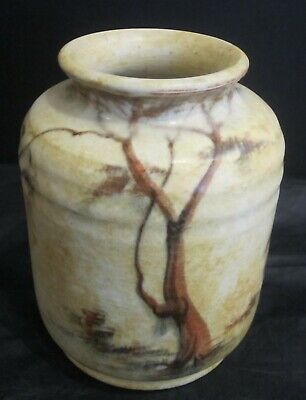 Radford Cylindrical Vase With 'Trees' Design By James Harrison • 40£