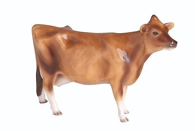 John Beswick Jersey Cow Figurine JBF83 In Branded Gift Box • 29.95£