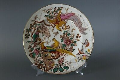 C1946 Royal Crown Derby Olde Avesbury 1st Quality 24cm Gilded Lunch Plate • 18.75£