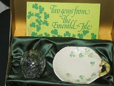 Healacraft 'Two Gems From The Emerald Isle' Cavan And Belleek • 10£