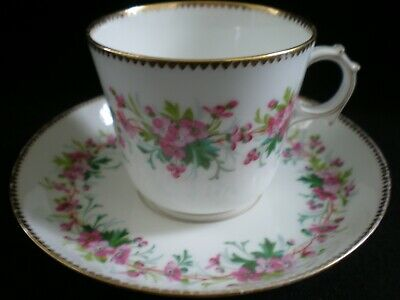 Vintage Sevres Coffee Cup And Saucer (e) [74] • 12.50£