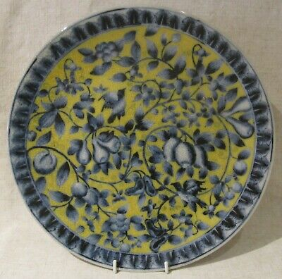 Wong Lee 'WL 1895' Contemporary Chinese Crackle Glaze Charger • 50£