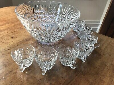 Punch Bowl And Glasses • 20£