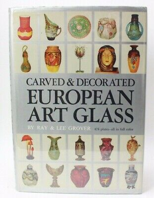 Ray & Lee Grover Carved & Decorated European Art Glass Book  • 15.24£