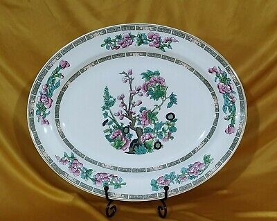 Lord Nelson Indian Tree -Serving Plate 30cm Vintage ~ Bone China ~ Oriental • 8.99£