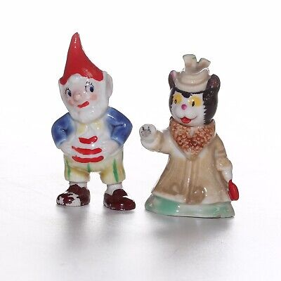 Wade, Big Ears And Miss Fluffy Cat, From The Noddy Set Style 1, 1958 • 24£