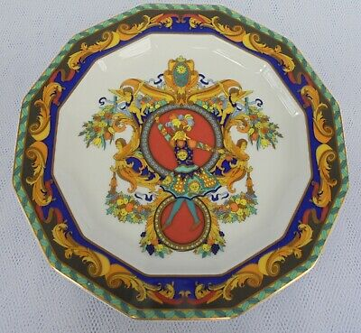 Versace  / Rosenthal  ~  Le Roi Soleil Decorative Plate - Rare & Collectable ! • 125£