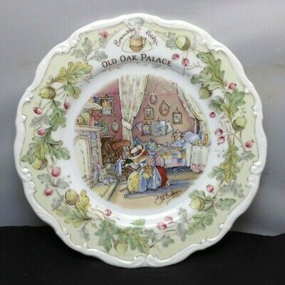Lovely Royal Doulton Brambly Hedge Old Oak Palace Decorative Plate SU1069 • 20£