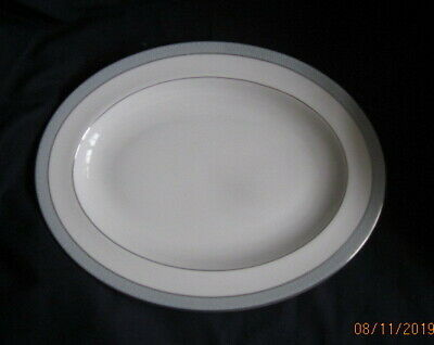 Royal Doulton Etude Large Oval Platter 34½cm H5003 Reduced To Clear • 2.50£