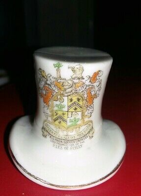 Crested China - Top Hat - Isles Of Scilly  • 2.99£