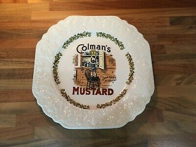 Lord Nelson Pottery Colman's Mustard Plate • 4£