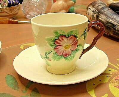4 X Vintage Carlton Ware Primula Cups & Saucers  Fully Stamped  • 14.95£