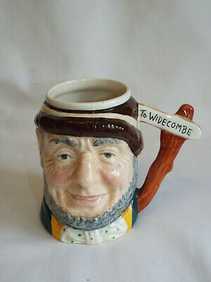Rare Sandland Ware Musical Toby Jug  Uncle Tom Cobleigh  Widecombe Fair. • 9.99£