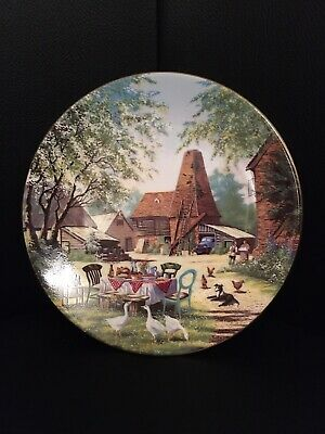 Royal Worcester Yorkshire Television The Darling Buds Of May ,China Plate 19cm • 3.20£