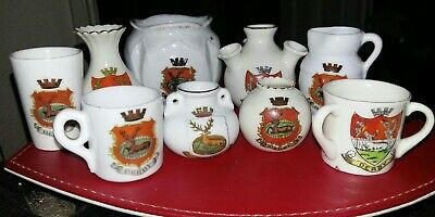Crested China - Derby X9 • 8£