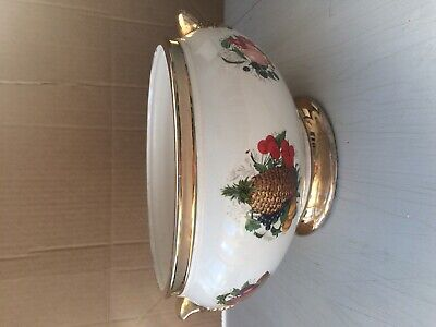 J&S Pottery Stoke On Trent Staffs Made In England Bowl • 40£