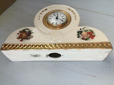 Finest Quality Earthenware Staffordshire England Clock • 50£
