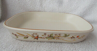 Marks & Spencer Harvest Rectangular Roaster Pattern Outside 11  X 9  • 4.99£