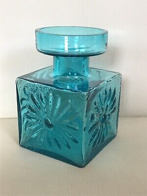Vintage Dartington Glass Daisy Candle-holder/ Vase By Frank Thrower FT60 • 17.99£