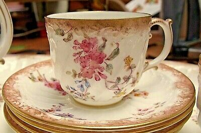 Antique Royal Crown Derby Cup & Saucer 1891  • 39.95£