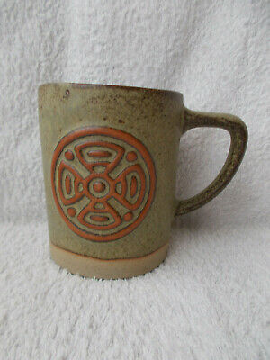 Tremar Pottery Tankard With Celtic Motif • 9.99£