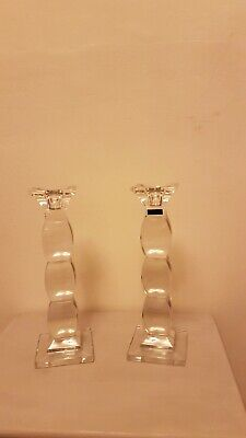 Thomas Webb Crystal Candlesticks • 14.99£
